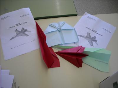 Projecte avions de paper - 2